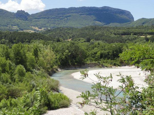 El Drôme en la subida hacia Valcroissant. Foto R.Puig