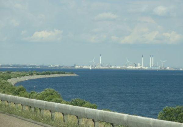 Entrando en Dinamarca. Foto R.Puig