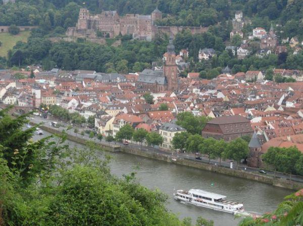 Heidelberg. La ciudad y su río.  Foto R.Puig