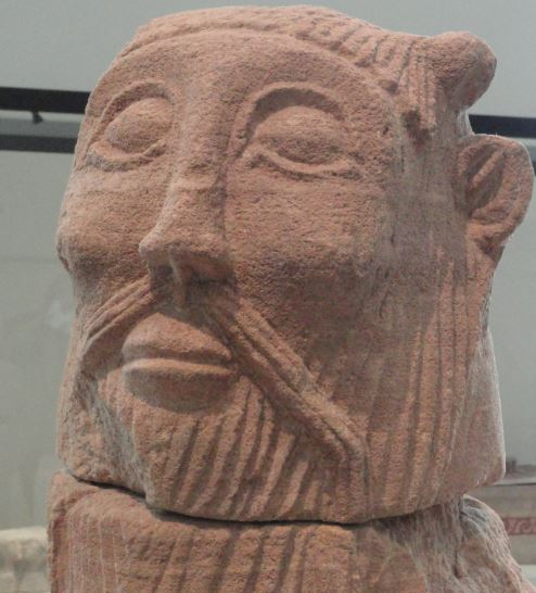La cabeza de la bicha de Balazote. Museo Arqueológico Nacional. Madrid. Protohistoria. Foto R.Puig