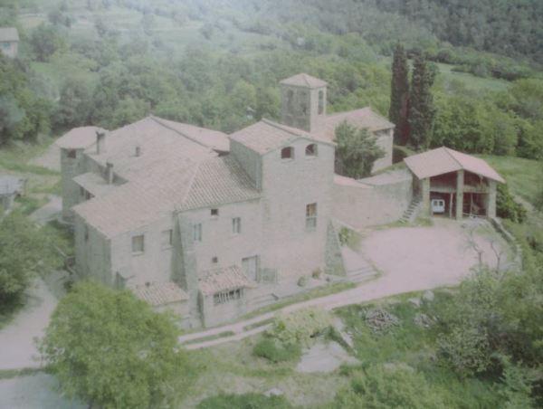 Masía de Pujarnol. Porqueres. Foto Archivos Consell Comarcal del Pla de l'Estany