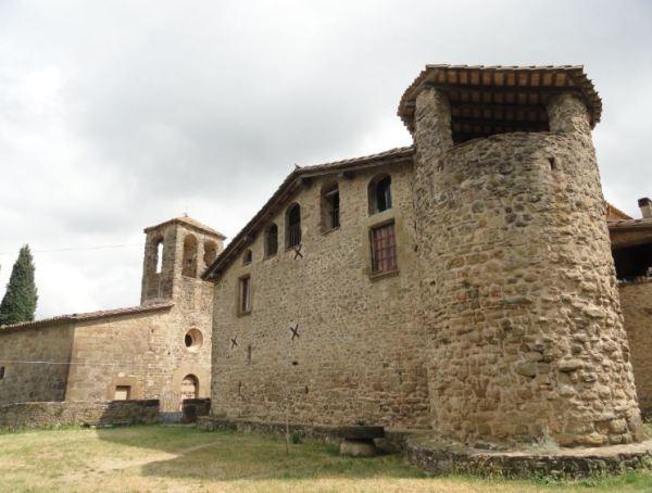Masía fortificada. Siglo XV. Pujarnol. Foto R.Puig