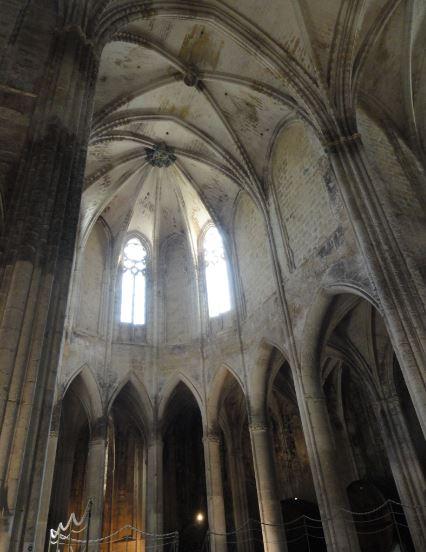 Ojivas y bóvedas. Valmagne. Foto R.Puig
