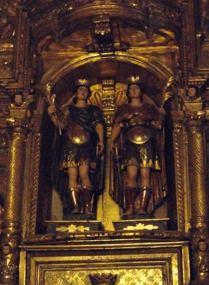 Retablo de los santos Abdón y Senén. Abadía de Santa María. Arles sur Tech. Foto R.Puig