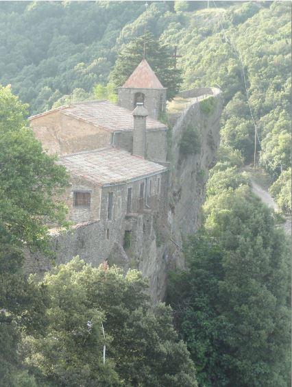 Santuario de Rocacorba. Foto R.Puig