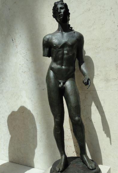 Apolo. Museo Arqueológico Nacional. Madrid. Época hispanoromana. Foto R.Puig