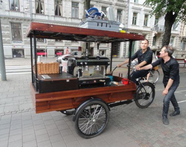 Cafetería ambulante en Gotemburgo. Foto R.Puig
