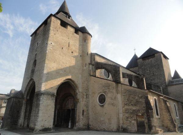 Catedral de Oloron Sainte Marie. Foto R.Puig