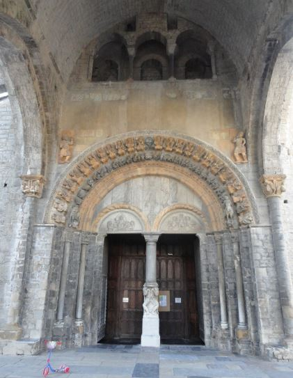 Catedral de Oloron Sainte Marie. Nartex. Foto R.Puig