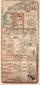 Codice maya de Dresde.
