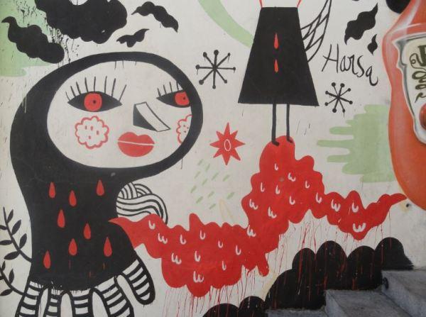 Graffiti. Huesca.  Foto R.Puig