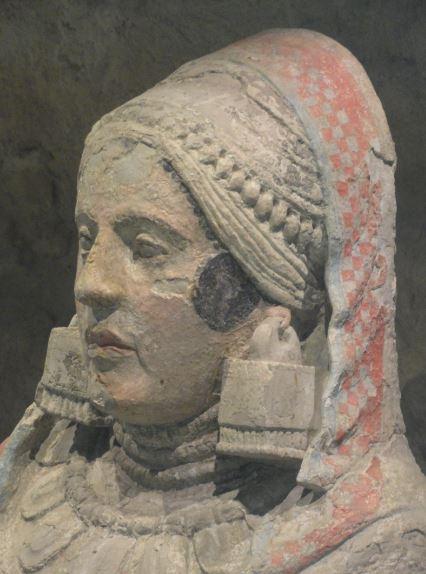 La dama ibera de Baeza. Museo Arqueológico Nacional. Madrid. Protohistoria. Foto R.Puig