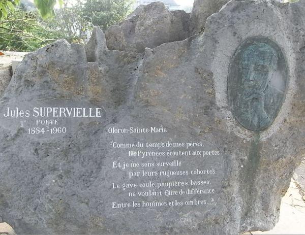 Oloron Sainte Marie. Memorial de Jules Supervielle.Foto R.Puig