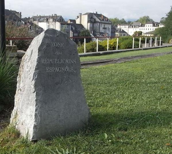 Oloron Sainte Marie. Memorial de los republicanos españoles. Foto R.Puig