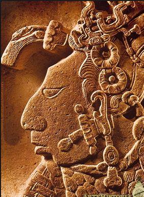 Perfil maya. Fuente hispanoart.blogspot