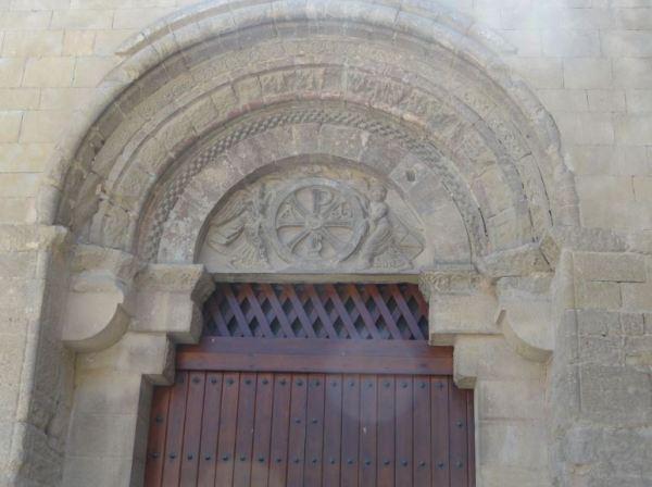 Portico de San Pedro el Viejo. Huesca. Foto R.Puig