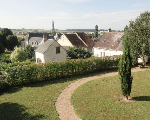 Sainte Maure de Touraine desde su santuario. Foto R.Puig