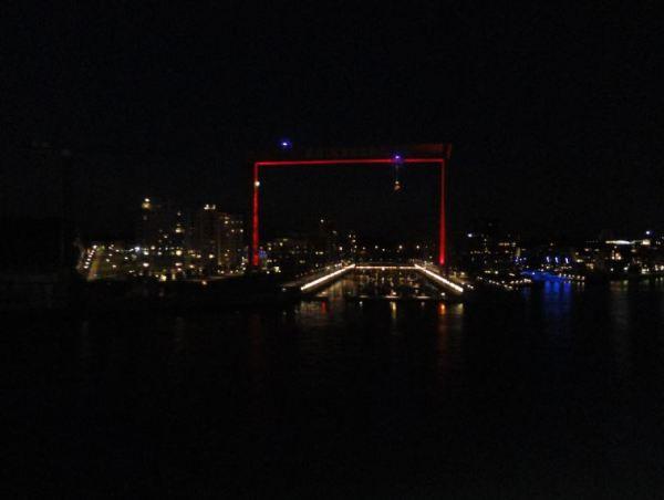 Desde el ferry. Entrada en Gotemburgo.  Foto R.Puig
