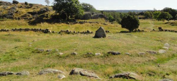 Enterramientos circulares. Pilane.  Foto R.Puig