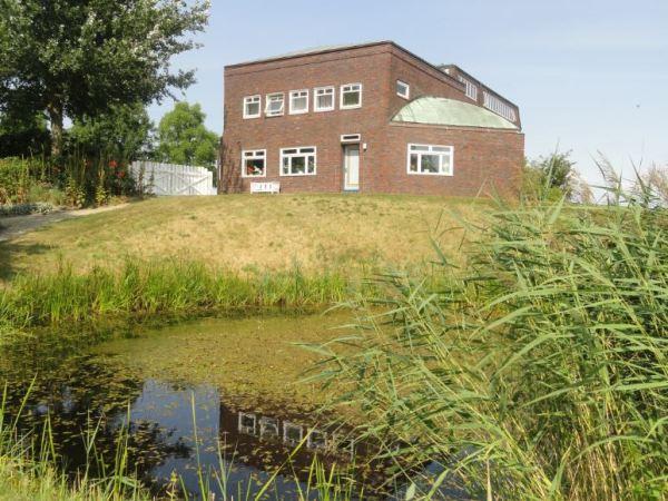 La casa museo de Emil Nolde desde el jardín. Foto R.Puig