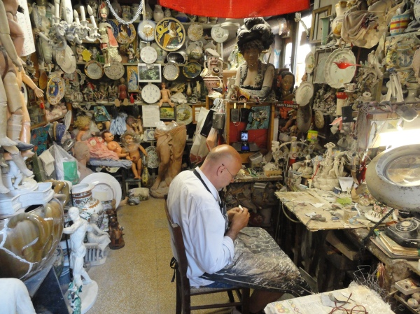 La tienda de Squatriti. Interior. Roma. Foto R.Puig