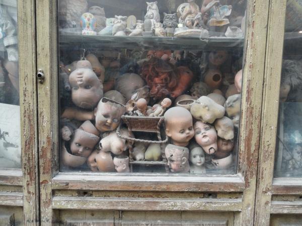 La tienda de Squatriti. Vitrina. Roma. Foto R.Puig