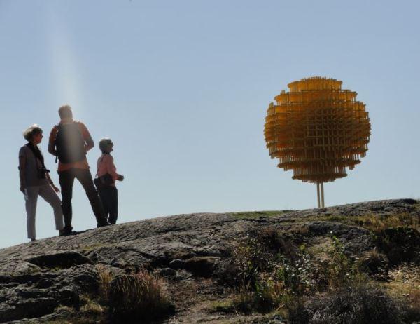 Visitantes. Pilane 2014.  Foto R.Puig