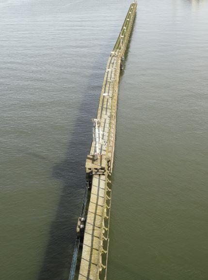 Desde el puente.  Foto R.Puig