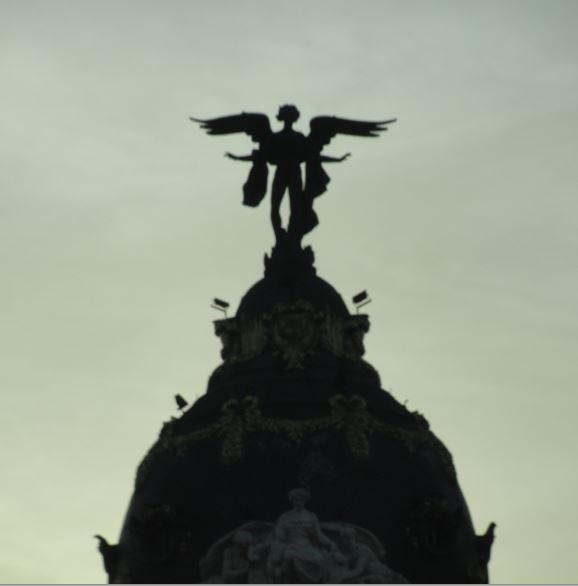 El ángel del atardecer. Foto R.Puig