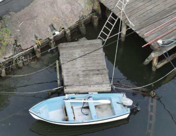 Debajo del puente. Foto R.Puig