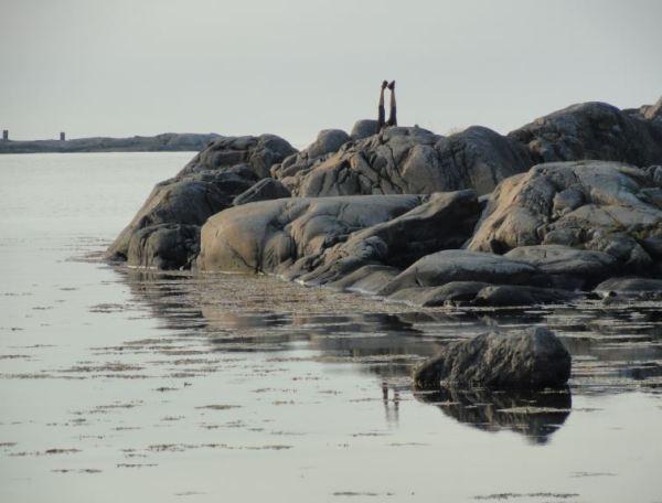 Yoga frente al mar. Foto R.Puig