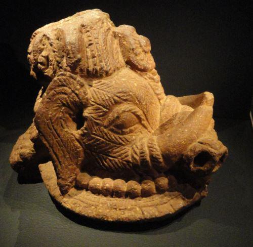 Cabeza de elefante. Terracota. ss.XIII a XVI. NCMM. Lagos. Foto R.Puig