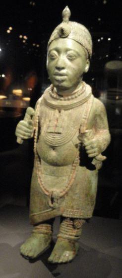 Figura de un rey. Aleación de cobre. s.XV. NCMM. Lagos. Foto R.Puig