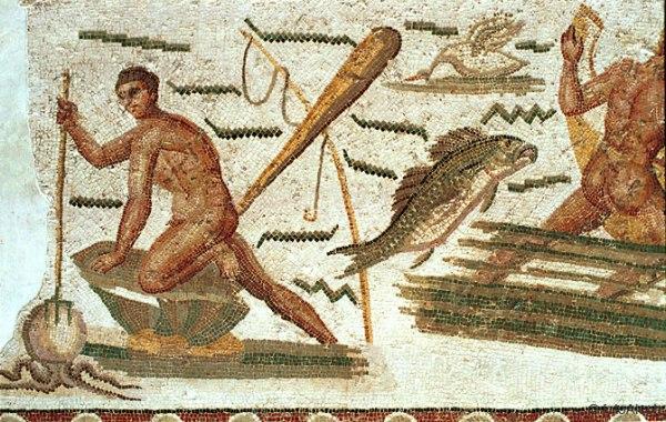 Mosaico del Museo del Bardo en Túnez