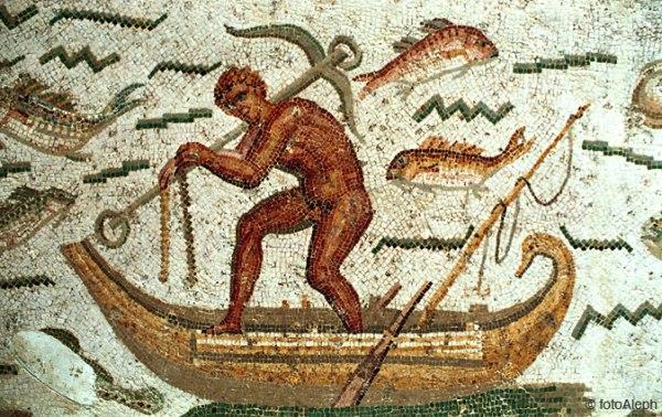 Mosaico romano. Museo del Bardo. Túnez