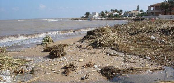 Despues del temporal del 2007. Foto R.Puig