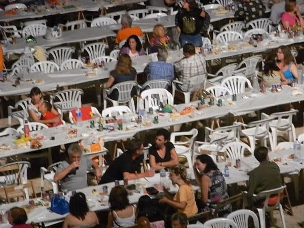 Por San Juan merienda cena. Foto R.Puig