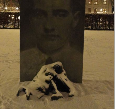 Memorial Raoul Wallenberg.  Foto R.Puig