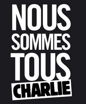 Nous sommes tous Charlie Nous sommes tous  Charlie.  Portada de Liberation del 8 de enero.