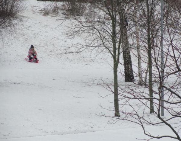 Primera nieve.  Foto R.Puig