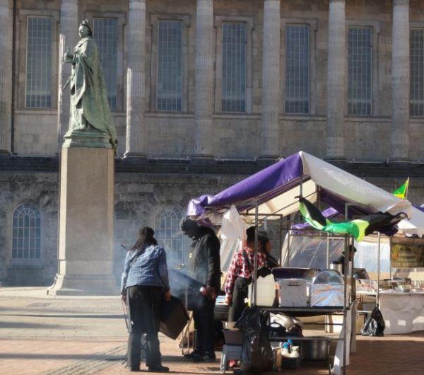 La Reina Victoria al olor de la cebolla frita. Foto R.Puig