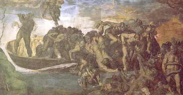 Los condenados de la barca de Caronte. Juicio Final