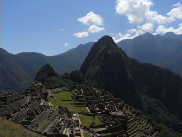Machu Picchu y el Huayna Picchu. 2009. Foto M..Puig