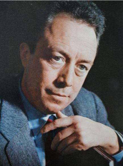 Albert Camus a principios de los años 50. Foto Bernard