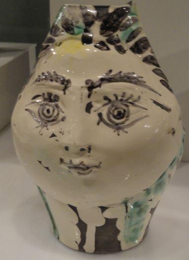 Cerámica de Pîcasso. Colección Attenborough. Museo de Leicester.  Foto R.Puig