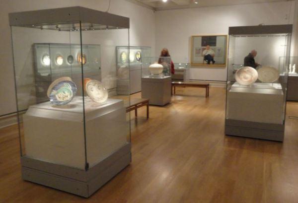 Cerámicas  de Pîcasso. La sala de la colección Attenborough. Museo de Leicester. Foto R.Puig