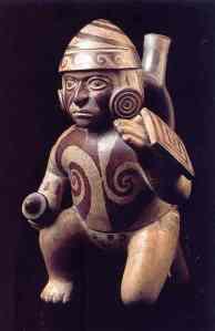 Guerrero. Cultura Mochica. Museo Etnológico de Leiden