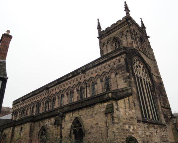 Leicester. Iglesia de St.Mary.  Foto R.Puig