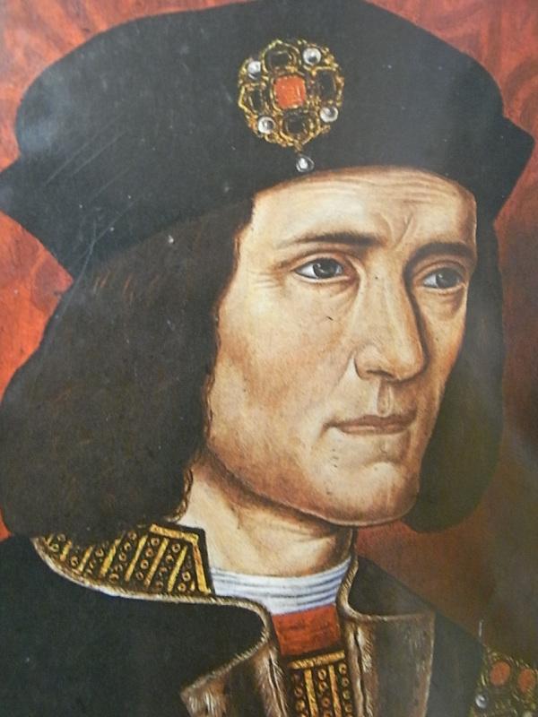 Ricardo III según imágenes de la época