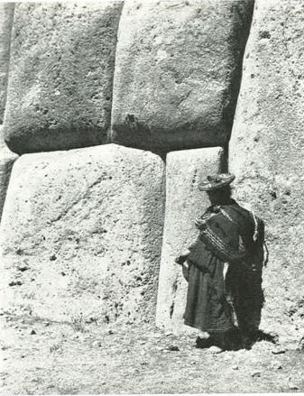 Sacsahuaman. Foto Manuel Scollo 1950